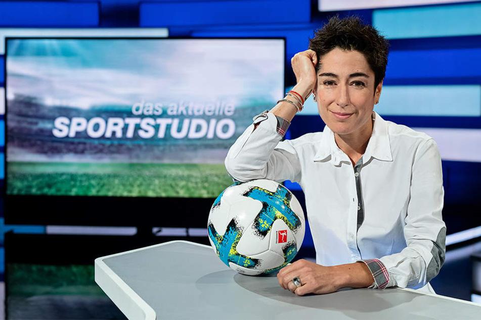 Dunja Hayali wird Reinhard Grindel im aktuellen Sportstudio interviewen.