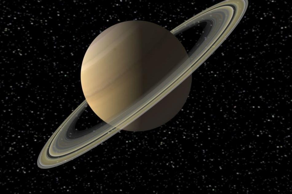 So wird der Saturn irgendwann einmal nicht mehr aussehen.
