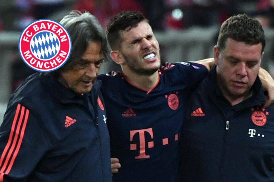 FC Bayern zittert sich in Piräus zum Sieg: Sorge um Hernandez