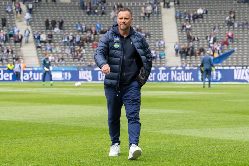 Pal Dardai steht bei Hertha noch unter Vertrag und kehrt im Juli womöglich in die Jugendarbeit zurück.