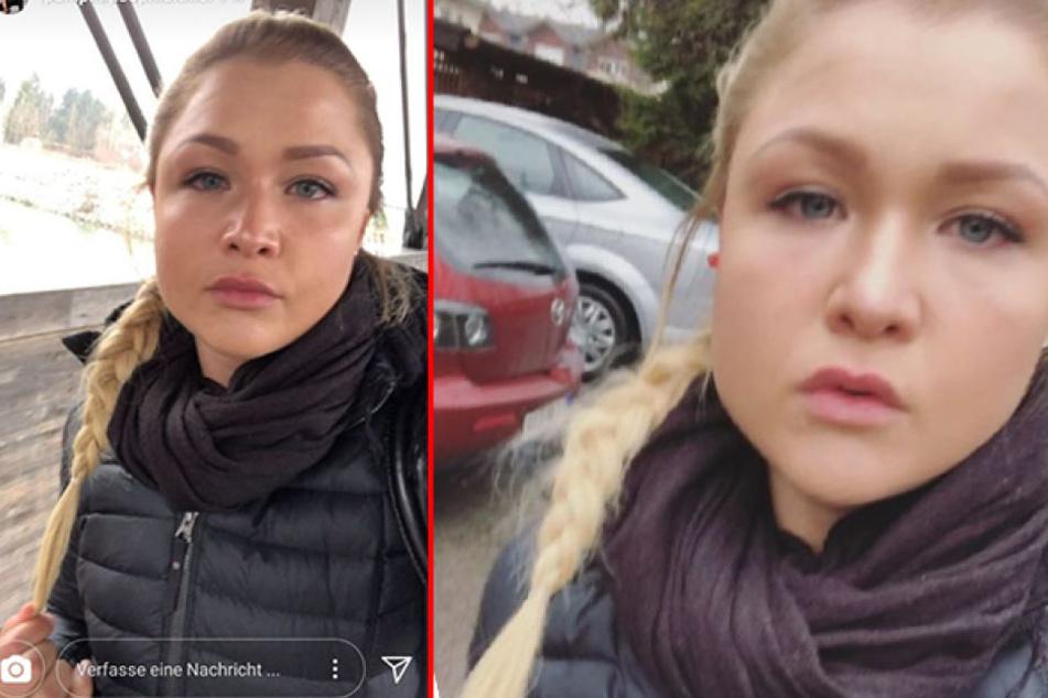 Auf Instagram bricht Sophia Thiel (23) in Tränen aus.