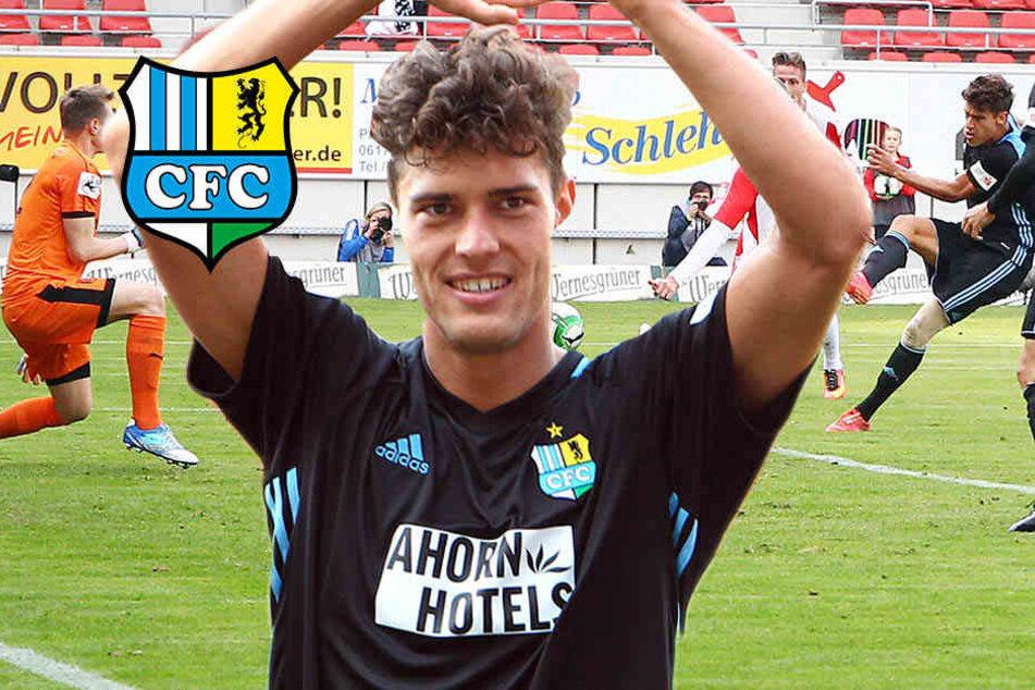 Nach Sieg gegen Halle: CFC-Slavov will sein Tor an FIFA18 schicken