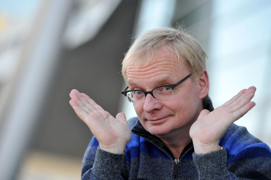 """Es nützt alles nichts: Uwe Steimle (54) darf als """"Jammer-Ossi"""" bezeichnet werden."""
