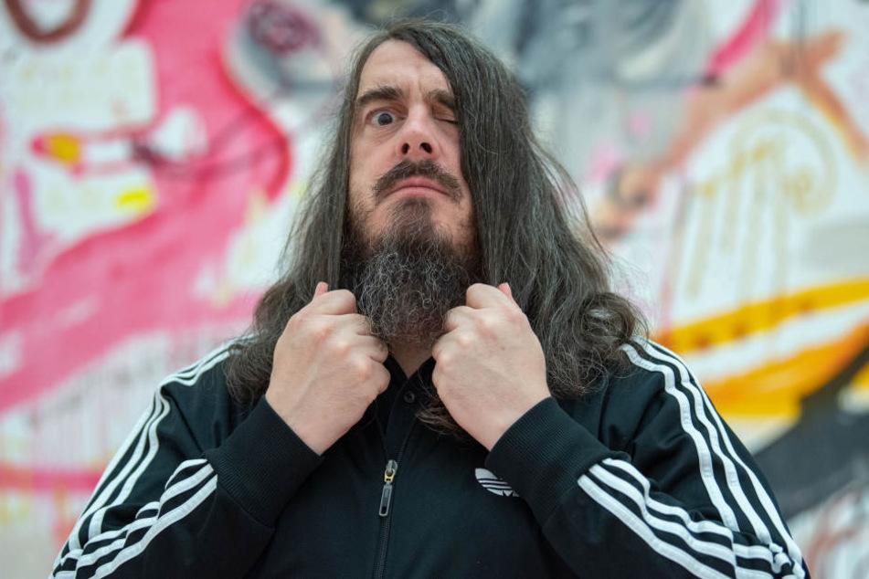 Das Werk des Künstlers Jonathan Meese (48) ist umstritten.