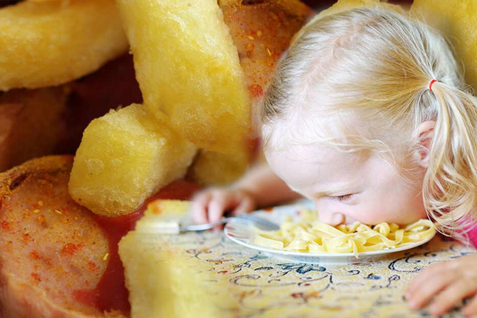 Auf dem Teller nichts Neues: So ungesund ist Kinder-Essen in Restaurants