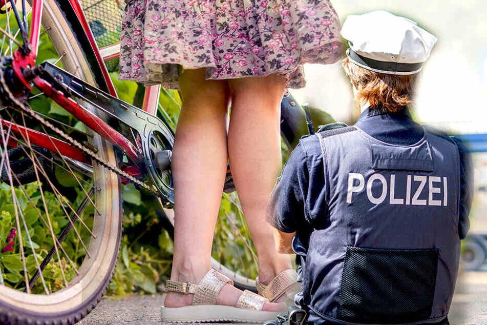 Aufdringliche Männer bedrängen und begrapschen Radlerin in Riesa