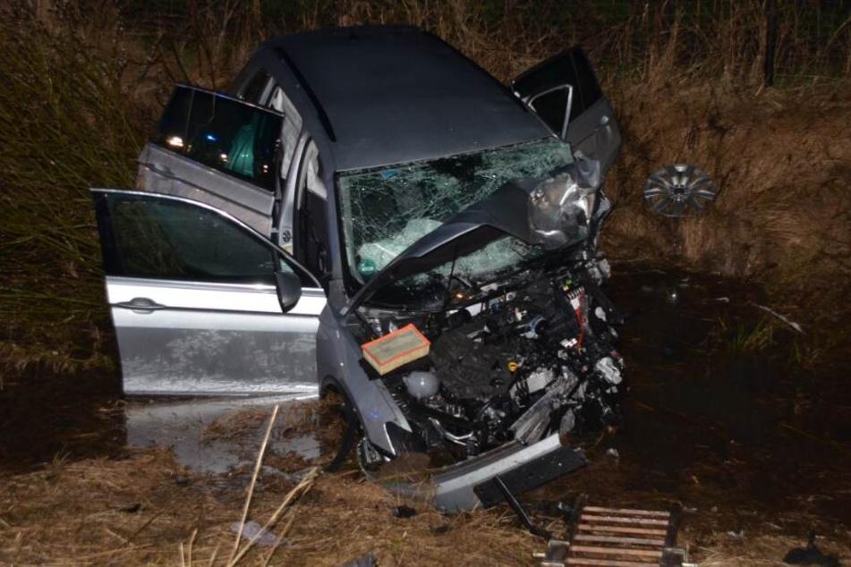 Der Autofahrer überlebte den Unfall nicht.