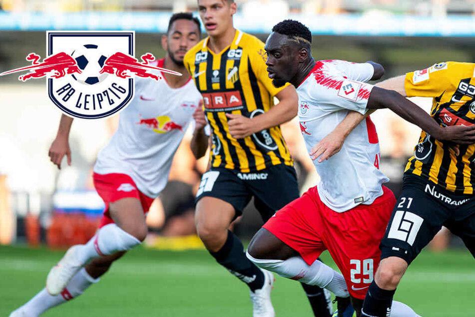 Leipzigs Jugendgang bringt RB in der Europa League eine Runde weiter