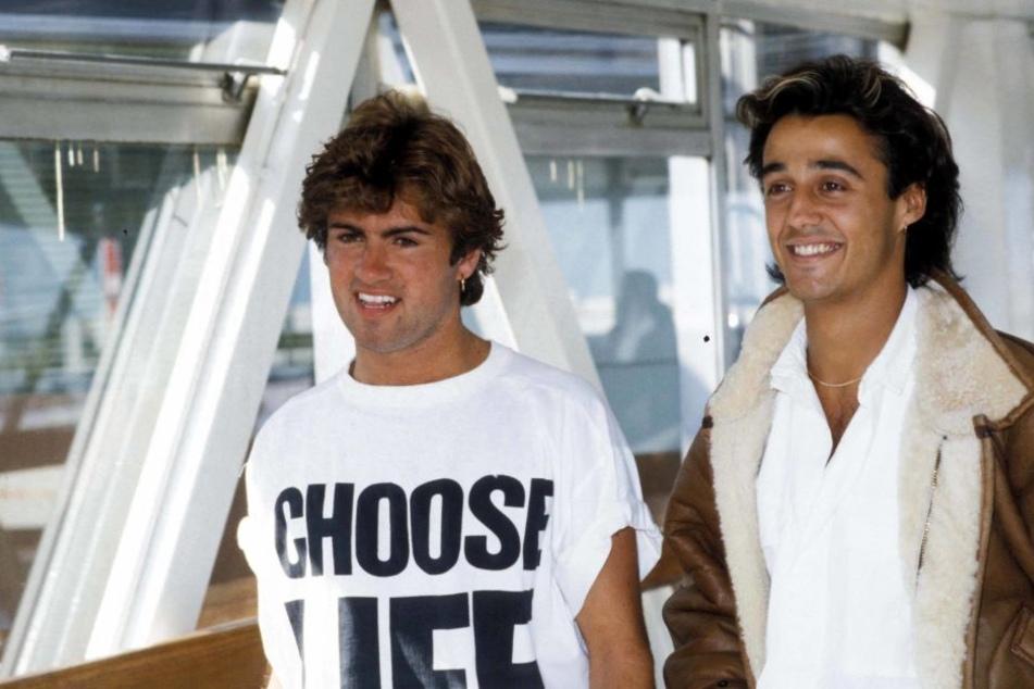 Die WHAM!-Zeit: George Michael (li.) und Andrew Ridgeley Mitte der 80er.