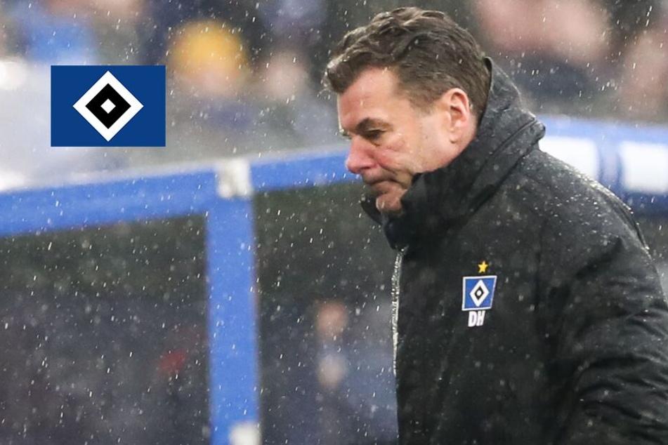 Darum fühlt sich HSV-Trainer Hecking für die Derby-Pleite verantwortlich