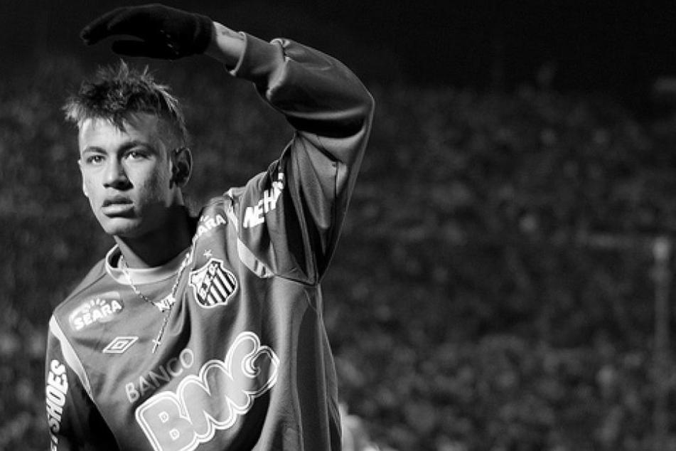 Brasiliens Mann Nummer 1: Ausnahmetalent Neymar.
