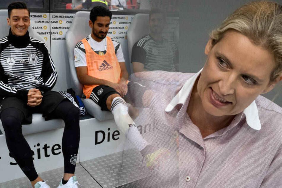 Alice Weidel begründet ihre Haltung mit dem Treffen der beiden Nationalspieler mit dem türkischen Präsidenten Erdogan.