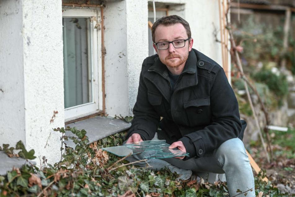 Betroffener fassungslos: Diebe plünderten sein Wochenendhaus