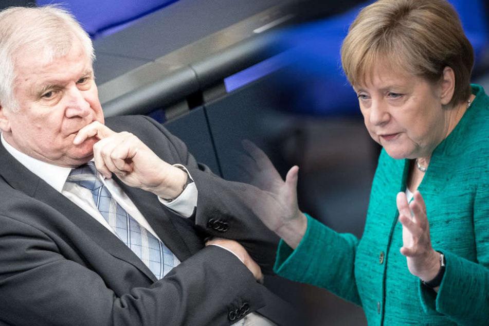 Horst Seehofer blieb der Rede von Angela Merkel fern.