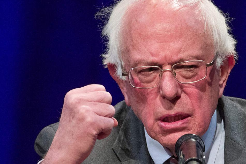 """Sanders tritt gegen Trump an: """"Ich denke, der jetzige Bewohner des Weißen Hauses ist peinlich"""""""