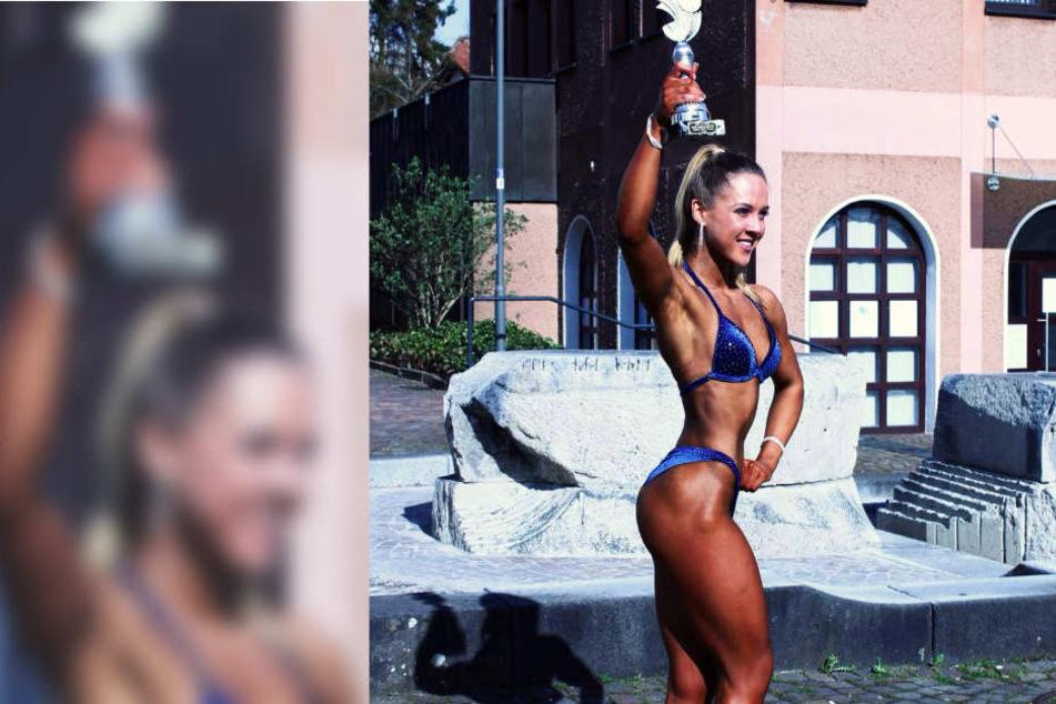 Vor kurzem holte Maria Singer den Titel in der Bikiniklasse bei den Deutschen Jugendmeisterschaften.