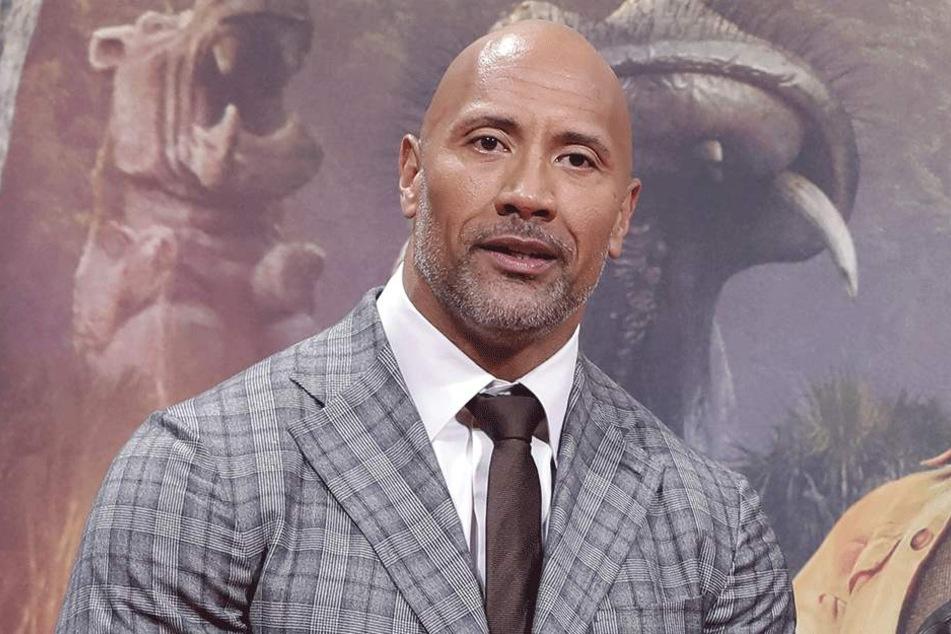 Dwayne Johnson alias The Rock (45).