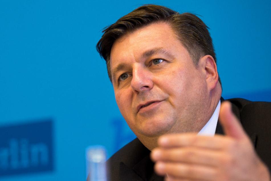 Innensenator Andreas Geisel (SPD) hat seine Meinung zur Legalisierung von Cannabis geändert.