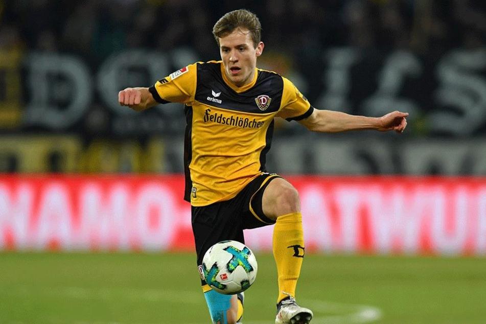 Niklas Hauptmann kehrt Dynamo den Rücken und wechselt zum 1.FC Köln.