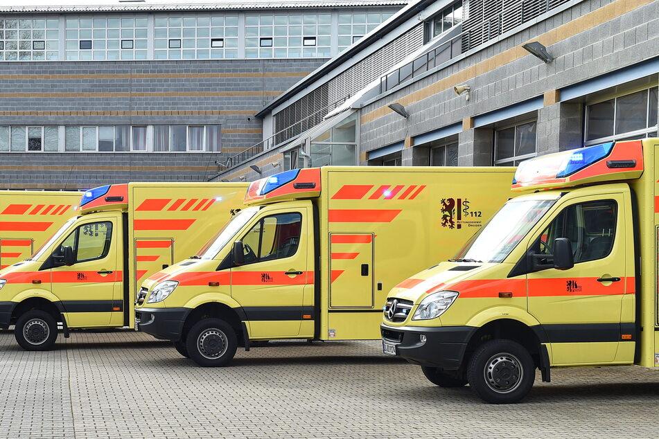 Zwei Rettungswagen können momentan nicht in Betrieb gehen, weil das Personal fehlt.