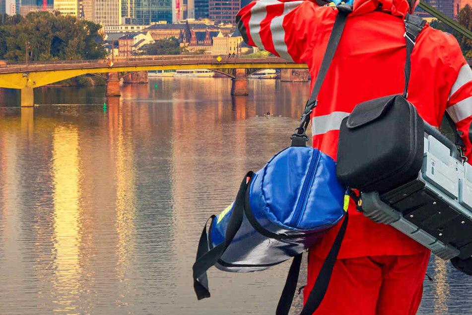 Frankfurt: Grausam: Wurde Betrunkener verprügelt und zum Sterben in den Fluss geworfen?