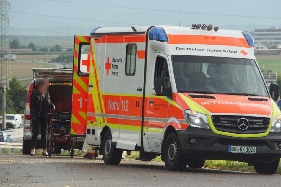 Ein 60 Jahre alter Mann kam bei dem Unfall ums Leben.