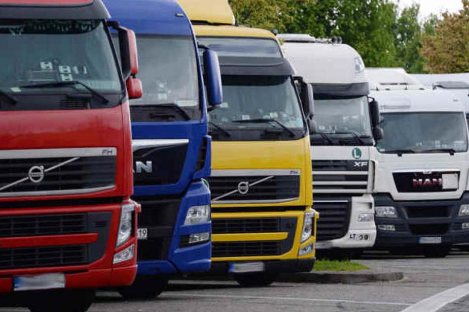 Viele Lkw-Fahrer touren regelmäßig durch ganz Europa. (Symbolbild)