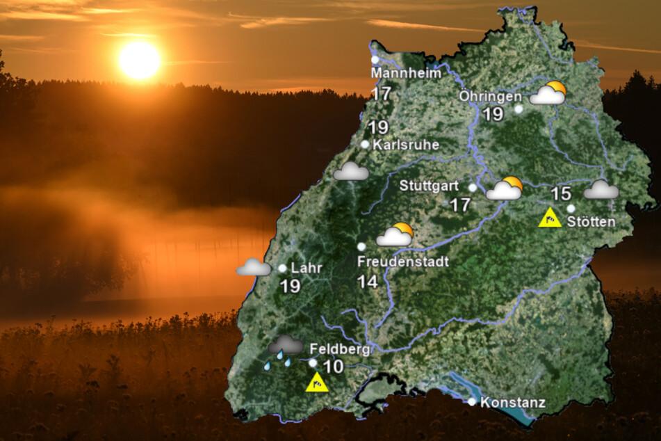 Am Montag mild, am Dienstag dann wieder ungemütlicher - das Wetter zeigt sich im Ländle von seiner launischen Seite. (Bildmontage)
