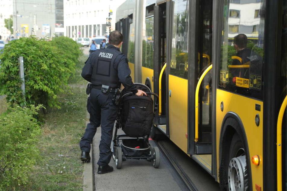 Unfall am Bahnhof Mitte: Frau von Bus erfasst