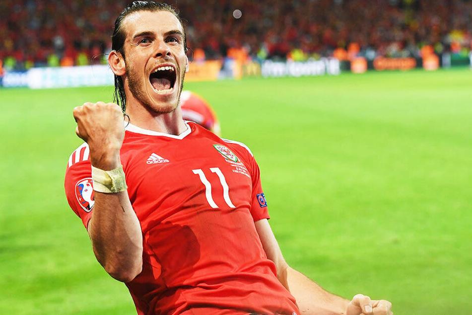 Wales-Superstar Gareth Bale beglückwünschte Dimitrij Nazarov zu dessen Leistung und...