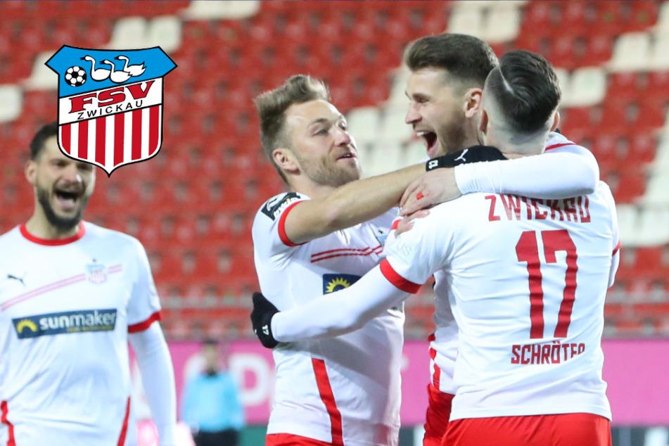 FSV Zwickau siegt klar gegen SC Verl und vermiest Eilers' Startelf-Debüt