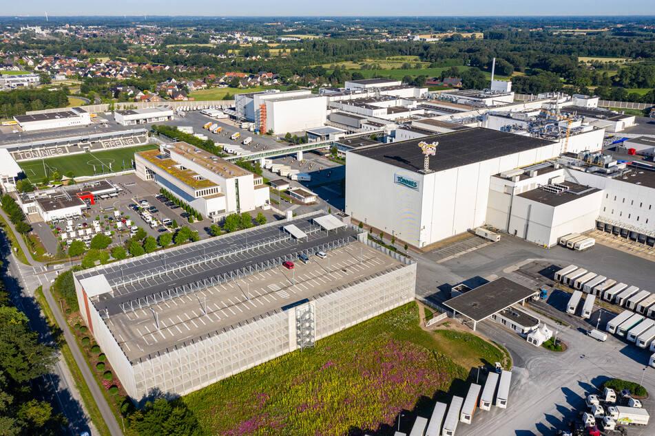 Tönnies-Werk in Rheda-Wiedenbrück. (Archivfoto)