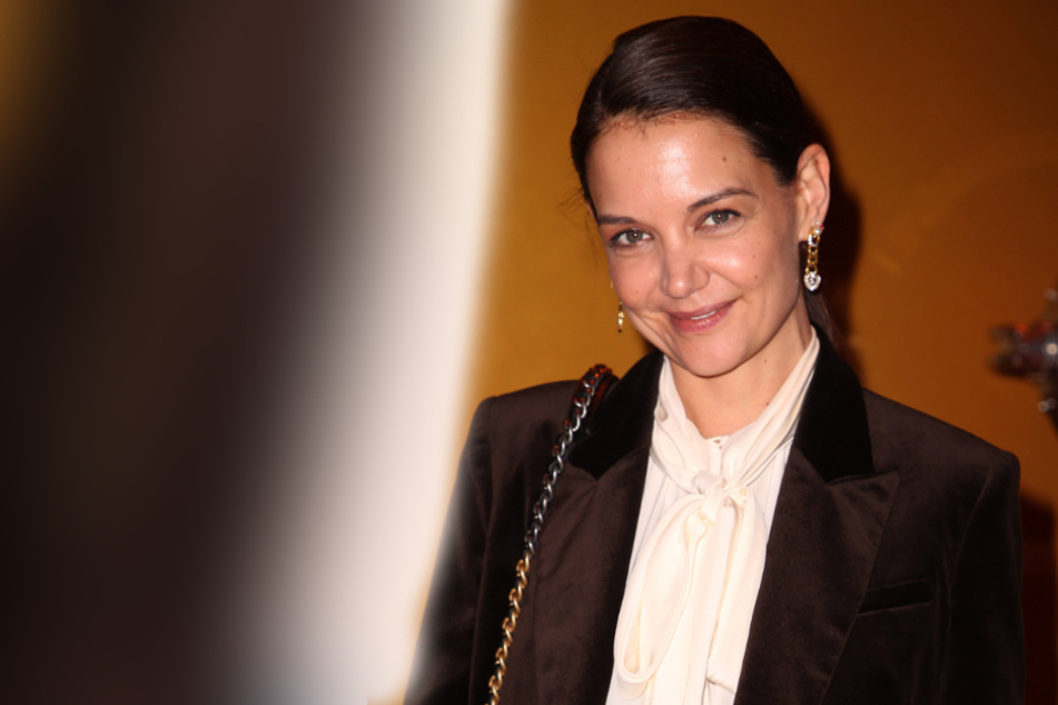 Busted! Is Katie Holmes dating New York's hottest chef?