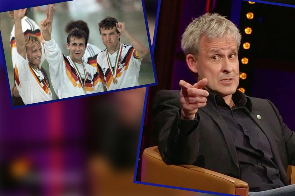 """Riverboat: Ex-WM-Held Littbarski im Riverboat: """"Ich hab die Physios mit Weißbier bestochen"""""""