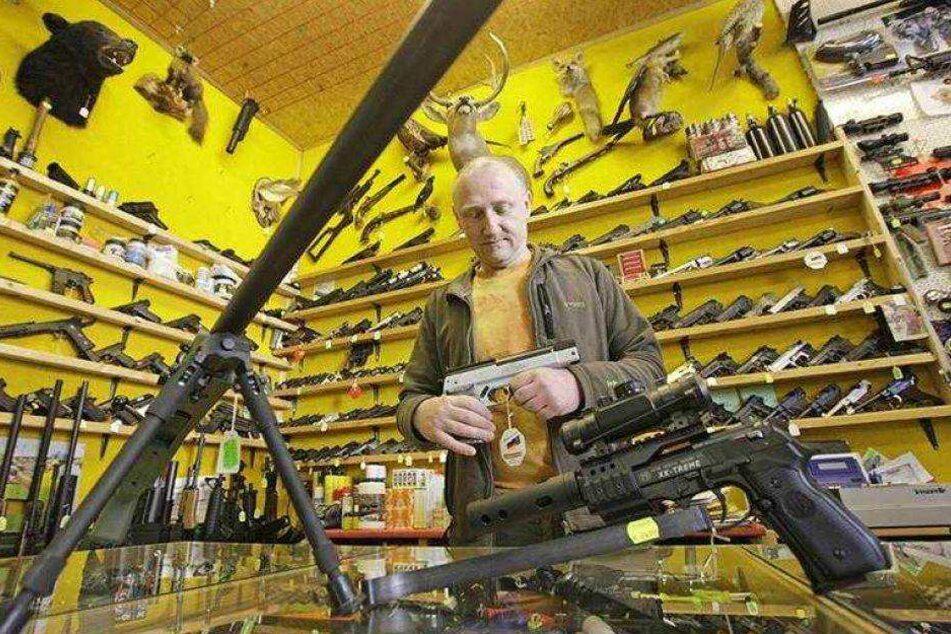 Immer mehr Waffen: Die Sachsen rüsten auf!