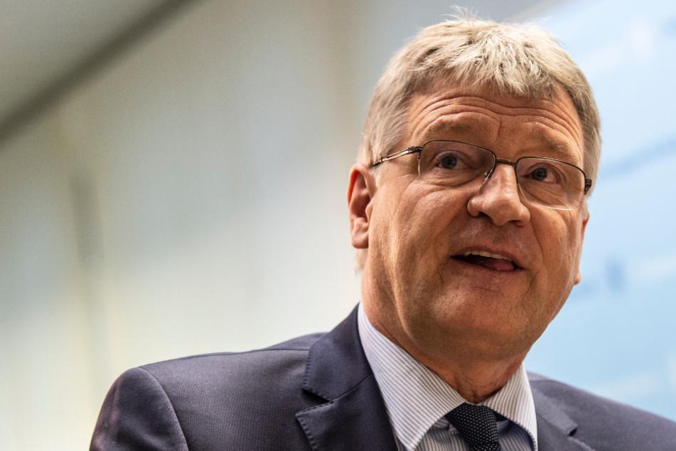 Jörg Meuthen (58, AfD).