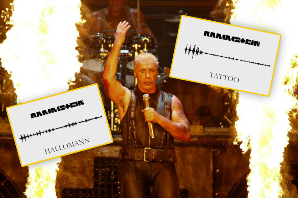Rammstein servieren ihren Fans neue Häppchen aus dem kommenden Album. (Bildmontage)