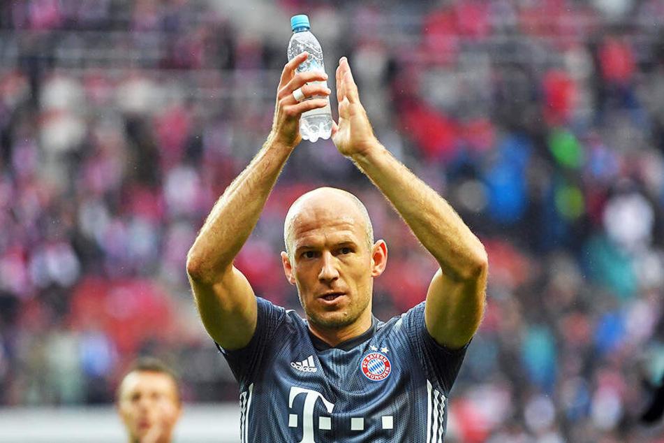 Am letzten Spieltag geht es für den FC Bayern gegen Eintracht Frankfurt. Kann sich Arjen Robben mit einer weiteren Meisterschaft aus München verabschieden?