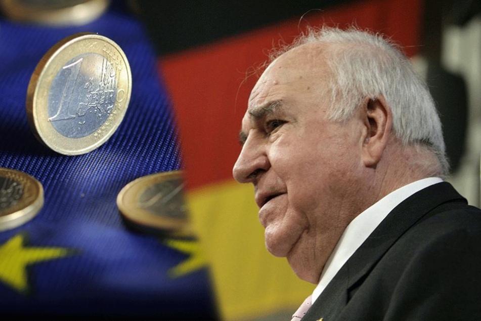 Helmut Kohl soll eigene Euro-Münze bekommen