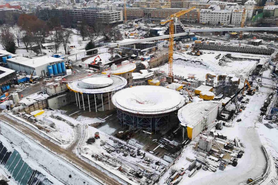 Von Freitag bis Sonntag ist die Baustelle wieder für Besucher geöffnet.