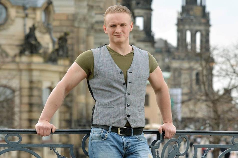 In Zivil ist Ilja Rukober (24) kaum wiederzuerkennen.