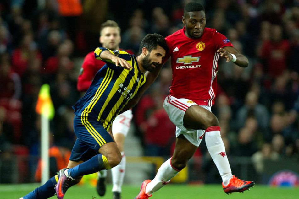 Timothy Fosu-Mensah beim Europa-League-Spiel gegen Fenerbahce Istanbul.
