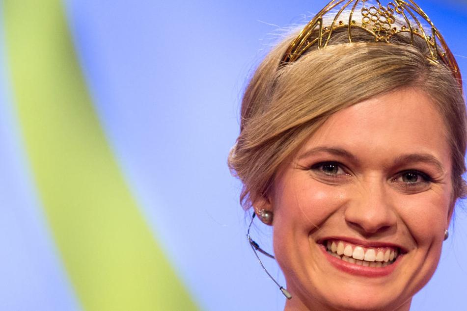 Für sie wird eine Nachfolgerin gesucht: Weinkönigin Carolin Klöckner.