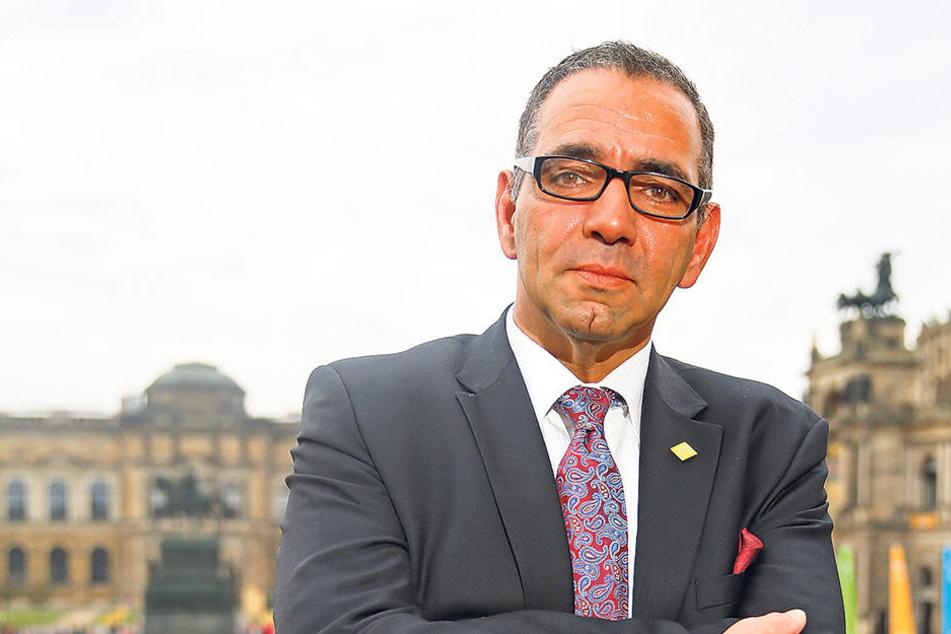 Dresdens Tourismus-Chef Johannes Lohmeyer.