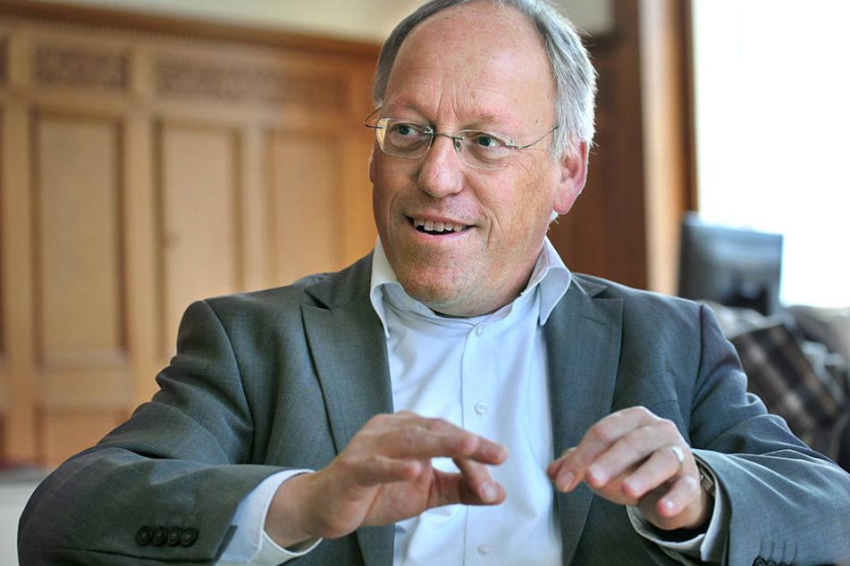 Bielefelds OB, Pit Clausen (SPD), ist Vorsitzender des Städtetags in Nordrhein-Westfalen.