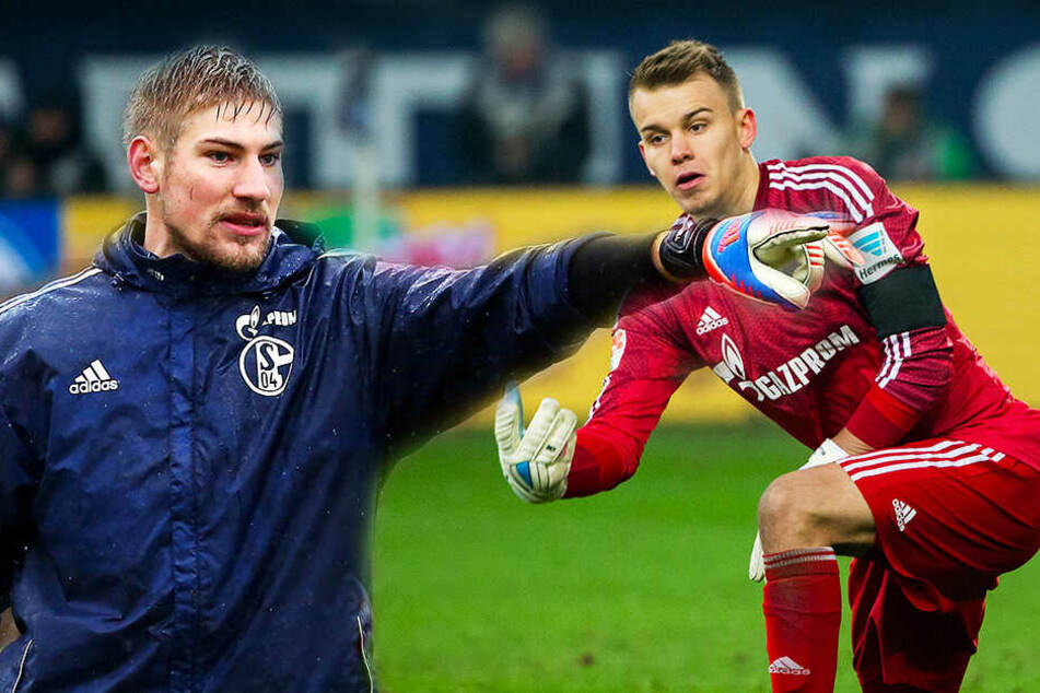 Die beiden ehemaligen Schalker Torhüter Lars Unnerstall (l.) und Timon Wellenreuther (r.) machten ein starkes Spiel.