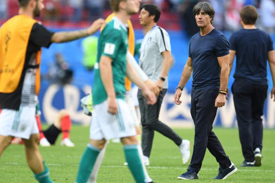 Für Deutschland war bei der WM in Russland in der Gruppenphase Schluss.
