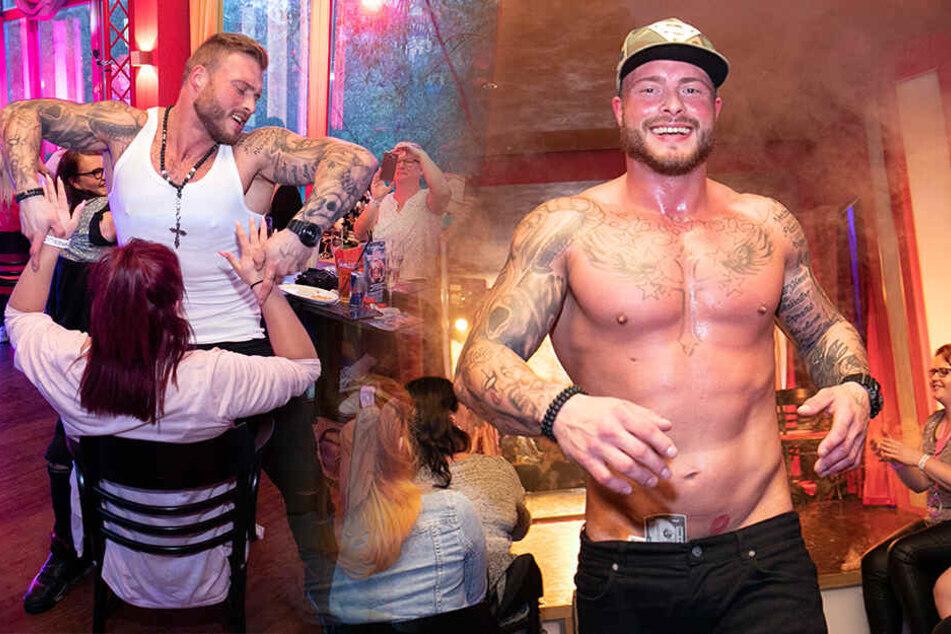 Kreischalarm zur Eröffnung der Männer-Stripbar in Dresden