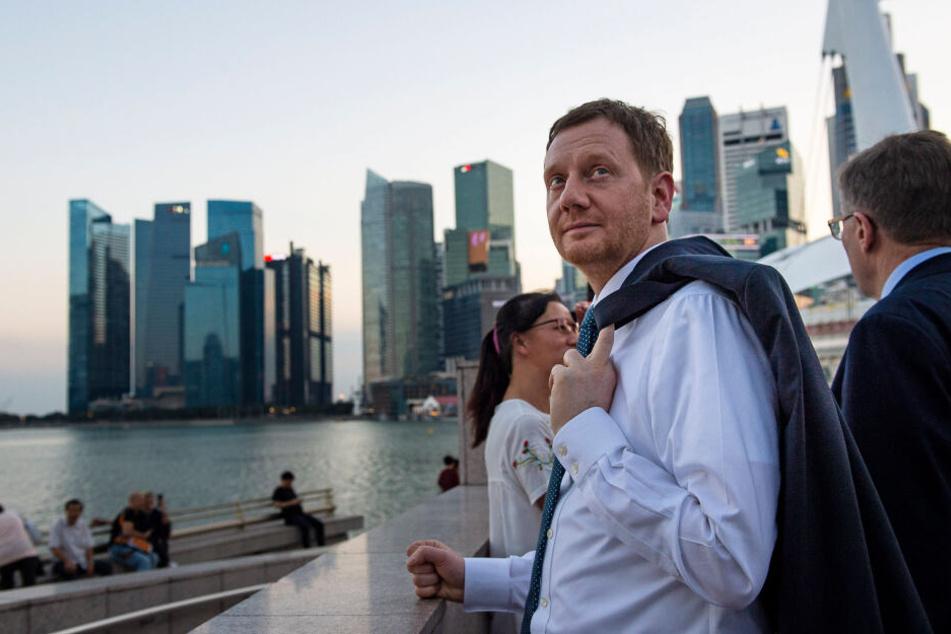 """""""Digitalisierung ist Fakt"""": MP Kretschmer zieht nach Singapur-Reise Bilanz"""