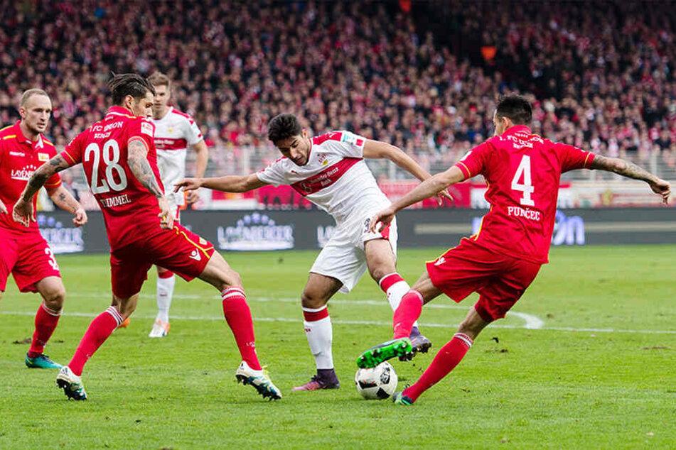 Am 13. Spieltag gab es in An der Alten Försterei ein Unentschieden.